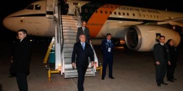 (Mendoza - Argentina, 20/07/2017) Presidente Michel Temer durante chegada a Mendoza, para participar da L Cúpula do Mercosul. Foto: Alan Santos/PR
