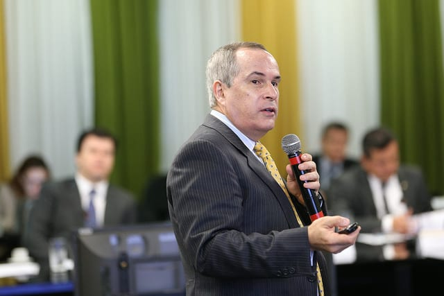 Decio Oddone, Diretor Geral da Agência Nacional do Petróleo, Gás Natural e Biocombustíveis.Foto: Saulo Cruz/MME