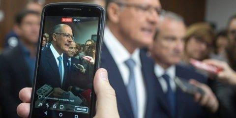 O governador Geraldo Alckmin nomeou 1.240 novos policiais civis. Data: 01/10/2017.  Foto: Alexandre Carvalho/A2img