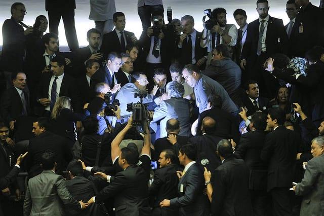 Plenário da Câmara dos Deputados durante sessão conjunta do Congresso Nacional destinada à leitura de expedientes e apreciação dos Vetos Presidenciais. Foto: Agência Senado