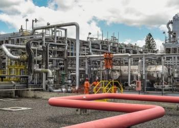 Área de Produção Terrestre de Petróleo na Bahia. Foto: Saulo Cruz/MME
