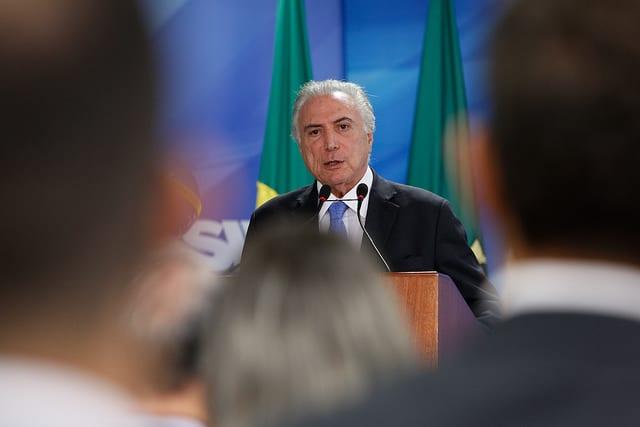 Cerimônia de Divulgação do Plano de Negócios e Gestão 2018-2022 da Petrobras. Fotos: Alan Santos/PR