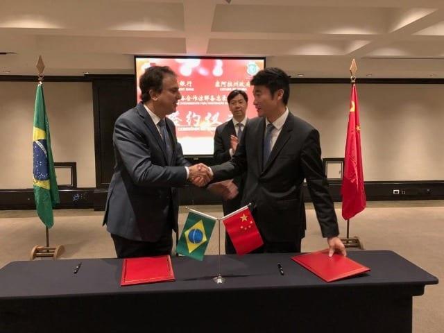 Memorando de Entendimento para cooperação estratégica entre o Governo do Ceará e o Banco de Desenvolvimento da China - Foto: ASCOM/Governo do Ceará