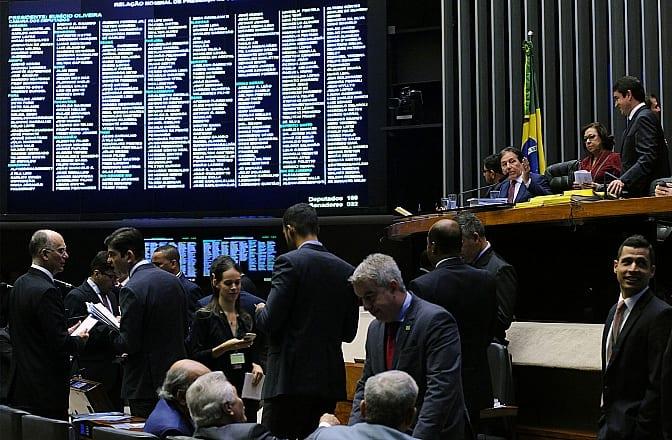 Sessão do Congresso Nacional para análise de vetos presidenciais - Foto: Luis Macedo/Câmara dos Deputados