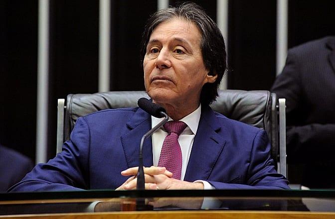 O senador Eunício Olveira (PMDB/CE) preside sessão do Congresso Nacional - Foto: Luis Macedo/Câmara dos Deputados