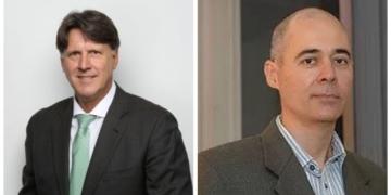 Hugo Repsol e Eberaldo de Almeida são, respectivamente, diretores de Desenvolvimento da Produção e Assuntos Corporativos da Petrobras