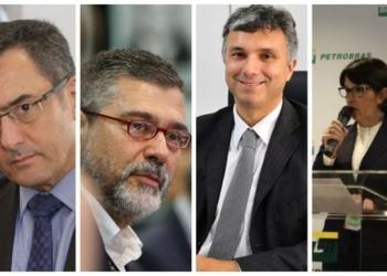 Eduardo Guardia (primeiro da esq para dir) vai coordenar a Comissão. Paulo Pedrosa (MME), Esteves Jr (Planejamento) e Solange Guedes (Petrobras) também participam da Comissão
