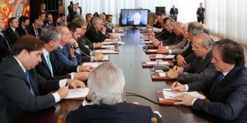 Reunião do Conselho da República e do Conselho de Defesa Nacional. Foto: Marcos Corrêa/PR