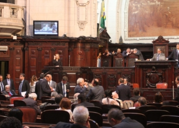 Ordem do Dia na Alerj na última terça-feira (27/2). Foto: LG Soares/Alerj