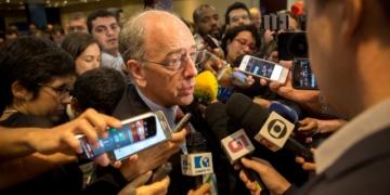 Presidente Pedro Parente na 15ª Rodada de Licitações realizada pela Agência Nacional do Petróleo, Gás Natural e Biocombustíveis (ANP) - Foto: Francisco de Souza / Agência Petrobras