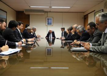 Brasília, 23/05/2018 Moreira Franco, Ministro de Minas e Energia, recebe parlamentares. Foto: Beth Santos/MME
