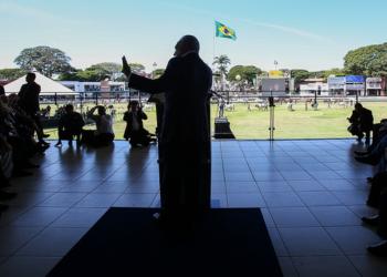 Solenidade de Abertura Oficial da 84ª Exposição Internacional de Gado Zebu - ExpoZebu - Foto: Marcos Corrêa/PR