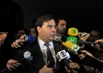 Rodrigo Maia confirmou tentativa de aprovação da urgência para o PL da cessão onerosa