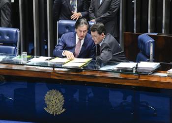 Plenário do Senado Federal durante sessão deliberativa extraordinária. Foto: Marcos Oliveira/Agência Senado