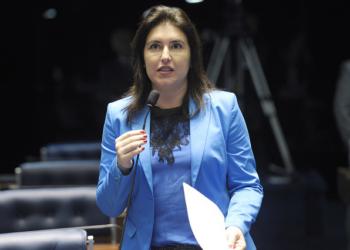A senadora Simone Tebet vai relatar o projeto na CCJ. Foto: Jefferson Rudy/Agência Senado