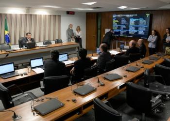 Comissão de Serviços de Infraestrutura (CI). Foto: Pedro França/Agência Senado