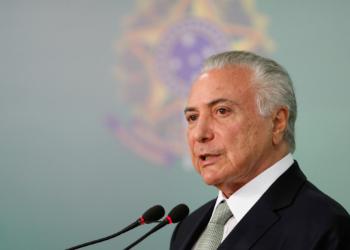 (Brasília - DF, 07/11/2018) Presidente da República, Michel Temer durante declaração à imprensa. Foto: Alan Santos/PR