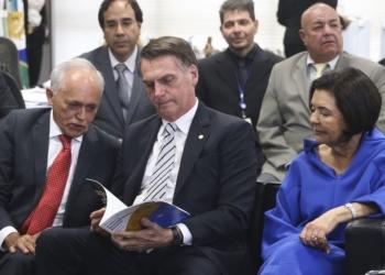 O presidente eleito, Jair Bolsonaro se encontra com o presidente do Tribunal de Contas da União (TCU), Raimundo Carreiro.