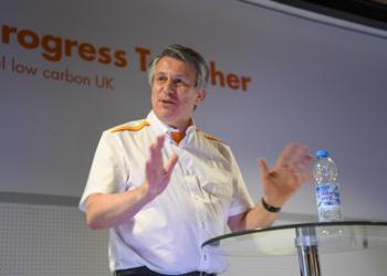 O CEO da Shell, Ben Van Beurden,