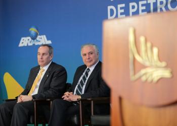 Décio Oddone e Michel Temer