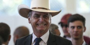 O presidente eleito, Jair Bolsonaro, participa de almoço com artistas sertanejos, no Clube do Exército, em Brasília.Foto: José Cruz/Agência Brasil