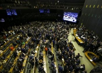Sessão de posse dos Deputados Federais para a 56ª Legislatura / Foto: EBC