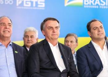 (Petrolina - PE, 24/05/2019) Presidente da República, Jair Bolsonaro durante Inauguração do Residencial Morada Nova do Programa Minha Casa Minha Vida.rFoto: José Dias/PR