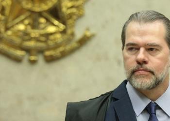 Ministro Dias Toffoli preside a sessão plenária do STF. Foto: Carlos Moura/SCO/STF