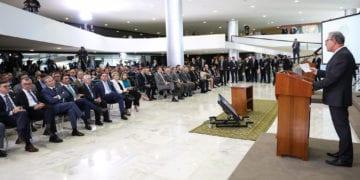 (Brasília - DF, 23/07/2019) Cerimônia de Lançamento do Novo Mercado de Gás.rFoto: Marcos Corrêa/PR