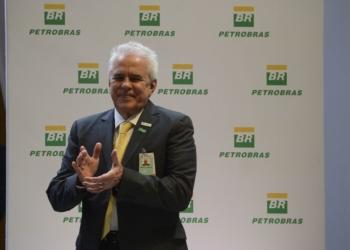 O economista Roberto Castello Branco toma posse como novo presidente da Petrobras, no edifício sede da companhia, no Rio de Janeiro. Foto: Fernando Frazão/Agência Brasil