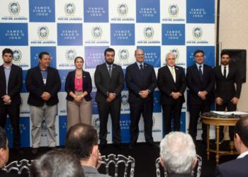 Rio de Janeiro - RJ - 09-08-2019 - Governador Wilson Witzel durante assinatura de TAC COMPERJ. Foto: Eliane Carvalho