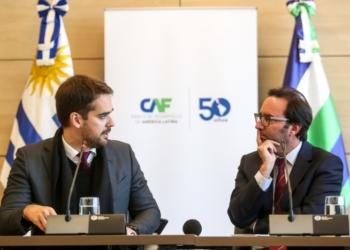 Governador discutiu proposta de cooperação com o CAF para a construção do gasoduto Uruguaiana-Porto Alegre - Foto: Rodger Timm / Palácio Piratini