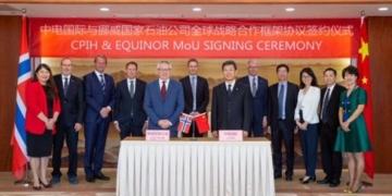 Assinatura de Memorando de Entendimento entre a Equinor e CPIH