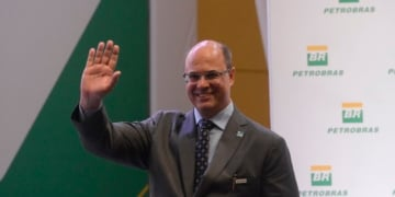 Rio de Janeiro - O governador Wilson Witzel durante posse do novo presidente da Petrobras. (Foto: Fernando Frazão/Agência Brasil)