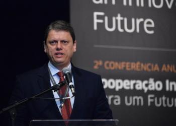 Ministro Tarcísio Gomes de Freitas -- Foto Alberto Ruy -- MInfra