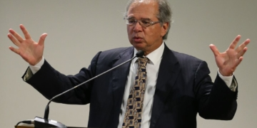 O ministro da Economia, Paulo Guedes, participa do evento Diálogos com o TCU / Foto: EBC