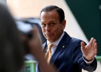 O governador de São Paulo, João Doria, tem prazo de dez diaspara se manifestar acerca de lei estadual vistra por associação como inconstitucional / Foto: Agência Brasil