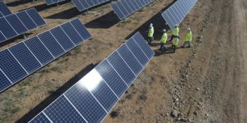 Centrale solaire SunPower Total, Prieska     Credits: ZYLBERMAN LAURENT - GRAPHIX IMAGES - TOTAL
