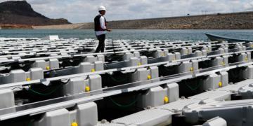 Sobradinho-BA, 28/11/2018 Usina Fotovoltaica Flutuante, da Companhia Hidro Elétrica do São Francisco (Chesf).   Foto: Saulo Cruz/MME