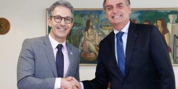 (Brasília - DF, 16/01/2019) Presidente da República, Jair Bolsonaro e Romeu Zema, Governador do Estado de Minas Gerais. Foto: Alan Santos/PR