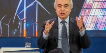 Fatih Birol, Executive Director, International Energy Agency, Parisrspeaking in the The Global Energy Challenge session at the World Economic Forum Annual Meeting 2020 in Davos-Klosters, Switzerland, 23 January. Congress Centre, Sanada Copyright by World Economic Forum/Walter Duerst