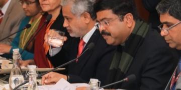 Dharmendre Pradhan, Ministro de Petróleo e Gás Natural da Índia