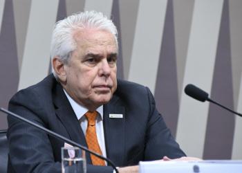 O presidente da Petrobras discute no Senado a privatização de refinarias e fábricas de fertilizantes da estatal. Foto: Jane de Araújo/Agência Senado