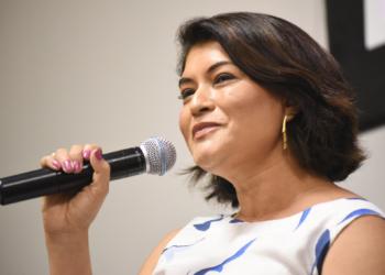 Élbia Gannoum, Presidente-Executiva da ABEEÓLICA. Foto por Saulo Cruz-MME
