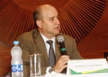O diretor de Relações Institucionais da Petrobras, Roberto Ardenghy, Foto: Vivian Fernandez / Agência Petrobras