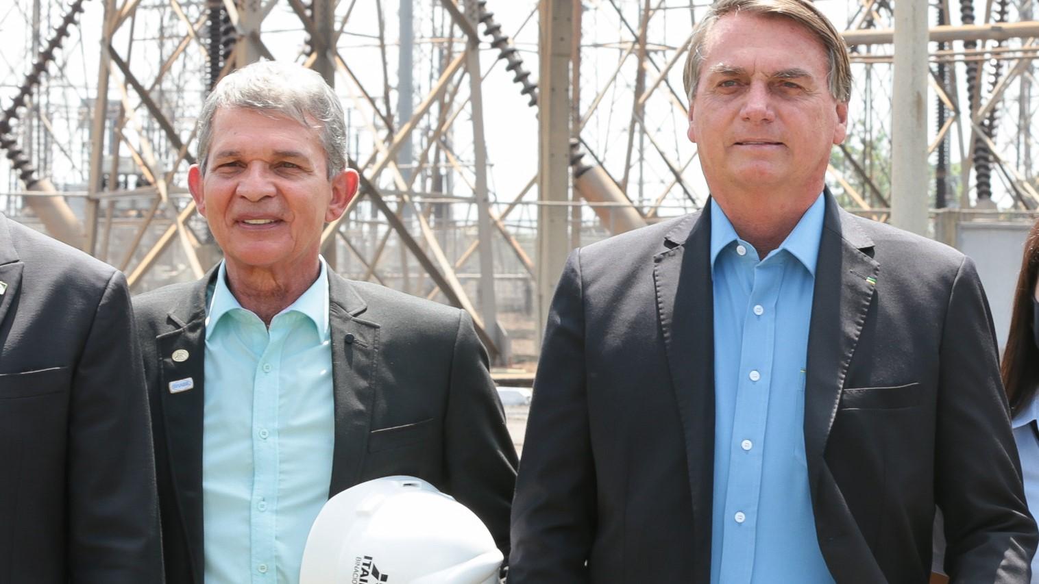 25/02/2021 Joaquim Silva e Luna e Petrobras posam em evento no Paraná. Foto por Valdenio Vieira, Presidência da República