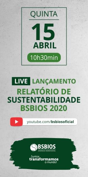 Transmissão do lançamento do Relatório de Sustentabilidade BSBIOS em 15 de abril